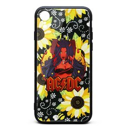 $enCountryForm.capitalKeyWord Australia - AC DC rock band white phone cases,case,iphone cases,iphone XR cases cool phone personalised phone cases design your own protective top cases