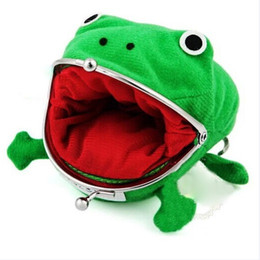 $enCountryForm.capitalKeyWord Australia - New Men Women Girl Boy Frog Anime Cartoon Kawaii Cute Wallet Coins Change Purse Naruto Coin Holder Manga Flannel Bag