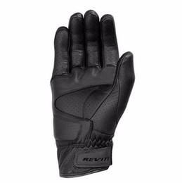 Motorcycle Leather Cycle Gloves Australia - Moto Racing Gloves Leather cycling gloves Perforated Leather Motorcycle Gloves black colorS M L XL XXLsize