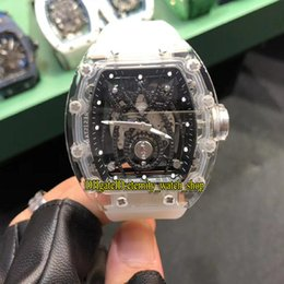 $enCountryForm.capitalKeyWord Australia - Best version RM19-01 Acrylic Case Black Skeleton Spider Diamond Dial Miyota Automatic RM 19-01 Mens Watch Rubber Strap Unisex Sport Watches