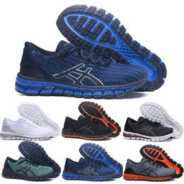 Snow Gel Australia - Top Gel-Quantum 360 SHIFT Stability Running Shoes T728N black white athletic outdoor Sports Jogging trainer speed women sneaker size 41.5-45