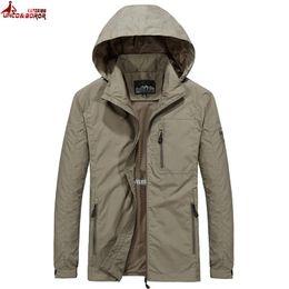 $enCountryForm.capitalKeyWord Australia - UNCO&BOROR New 2018 Men's windbreaker Jackets Men Spring Autumn thin Jacket Coats Male outwear Brand Clothing Plus Size M-6XL