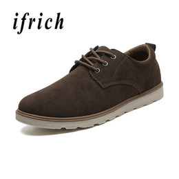 male massage UK - New Casual Shoes for Male Comfortable Walking Men Shoes Rubber Sole Mens Fashion Footwear Brown Yellow Classical Chaussure Homm