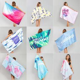 Microfiber Summer Yoga Towel Quick Fast Dry Beach Mat Adults Beach Towel 80*160 cm Swimming Towels on Sale