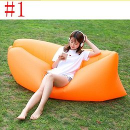 $enCountryForm.capitalKeyWord Australia - Wholesale-20PCS Lounge Sleep Bag Lazy Inflatable Beanbag Sofa Chair, Living Room Bean Bag Cushion, Outdoor Self Inflated Beanbag Furniture
