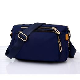 Waterproof Shoulder Travel Bag Australia - Casual Women Messenger Bags Small Waterproof Nylon Shoulder Crossbody Bag Travel Handbags Bolsa Feminina Black Blue Purple Y19061903