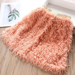 little girl skirt fashion Australia - 4color tassels girls skirts kids designer clothes girls pencil skirts little girls clothing 2019 new autumn winter princess skirt A7681