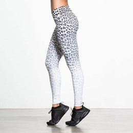 $enCountryForm.capitalKeyWord Australia - Wild Sexy! Women Leopard Leggings New Print Black White Sportswear Female Force Exercise Elastic Slim Workout Clothes Drop