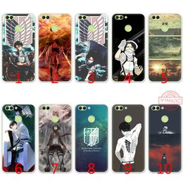 AttAck blAck online shopping - Attack on Titan Ackerman Soft Silicone TPU Case for Huawei Honor A GB Pro C X Lite Cover