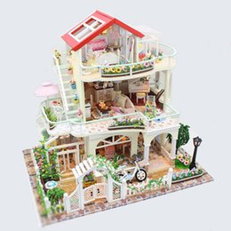 Toys & Hobbies 1pc Kids Castle Model Miniature Assembly Diy Educational Crafting Building Block Artwork Kits Toy Gifts For Gift Toy Kids
