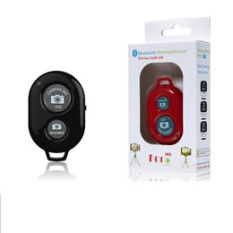 bluetooth shutter iphone Canada - Bluetooth Remote Shutter Control Self timer FOR iphone android ios Smart phone 100PCS lot Cartoon retail package