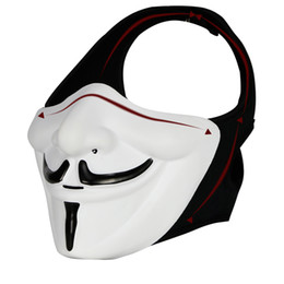 $enCountryForm.capitalKeyWord Australia - motorcycle helmet v for vendetta mask Motorcycle Face Mask Balaclava Ski Snowmobile Cycling Full Face Under H
