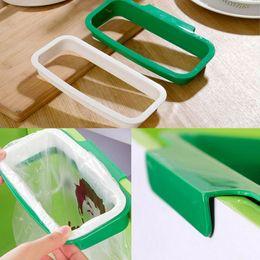 $enCountryForm.capitalKeyWord Australia - Home Cabinet Door Garbage Trash Bag Can Box Rack Hanging Holder Kitchen Tool Useful Household Cleaning Tools