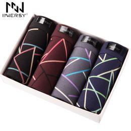 $enCountryForm.capitalKeyWord UK - Innersy 4pcs\lot Best Selling Modal Men Printed Boxer Shorts Boxers Mens Underwear Q190517