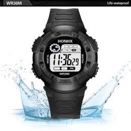 Men Digital Wrist Watches Australia - Luxury Men Analog Digital Army Sport LED Waterproof Wrist Watch quartz watch OUTDOOR Hiking sport best gift