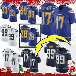los angeles chargers football jerseys 33 Derwin James 99 Joey Bosa 28  Melvin Gordon 17 Philip Rivers 13 Keenan Allen top sale db656c544