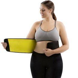 Compression Belt Wholesale UK - CHENYE new shapers Women's Plus Wide Belt Neoprene Corsets Waist Trainer Belt Plus-Size Compression Slimming Belts