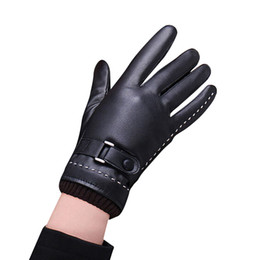 $enCountryForm.capitalKeyWord Australia - fashion 1Pair Womens Winter Warm Gloves Luvas de inverno Luva motociclista Leather gloves female Guantes Eldiven 18Nov