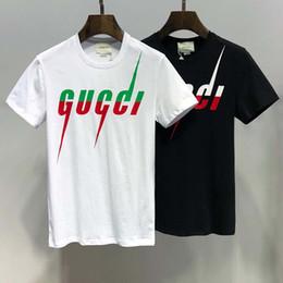 Yeni ürünler yeni dalga yaz renk eşleştirme kenar mektup baskı gevşek vahşi yuvarlak boyun T-shirt severler erkekler ve kadınlar