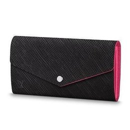 $enCountryForm.capitalKeyWord UK - M64322 Sarah Wallet Water Ripple Black Pink Real Caviar Lambskin Chain Flap Bag Long Chain Wallets Key Card Holders Purse Clutches Evening
