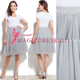 Images Women Tutus Australia - Knee Length Ball Gown Skirts For Women Ruffled Tulle Long Skirt Adult Women Tutu Skirts Lady Formal Party Skirts With Sashes