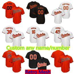 166f676aa Baltimore Orioles Custom Jersey Mens 5 Brooks Robinson 6 Jonathan Schoop 19  Chris Davis 28 Colby Rasmus 30 Chris Tillman Baseball Jerseys