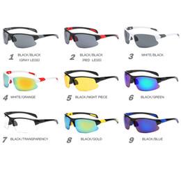 Windproof glasses online shopping - 2018 UV400 Men Women Driving Sunglasses HD Lens Sport Glass Running Eyewear Windproof Bicycle Cycling Glasses Oculos