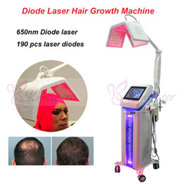 Wholesale Factory Price Hair Growth Products New nm Diode Laser Hair Regrowth Machine hair salon equipment