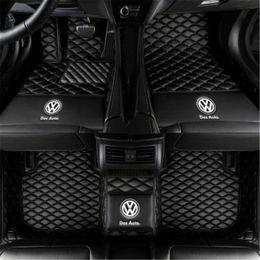 Toptan satış VW Beetle Atlas CC Golf GTI Jetta Passat Polo Tiguan Transporter Araba paspas