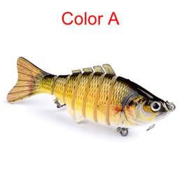 $enCountryForm.capitalKeyWord Australia - Outdoor fishing bait Fishing Lure Multi Segment Swimbait Crankbait Hard Bait 12.7cm 20g Artificial Lures Fishing Tackle 5 Colors