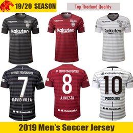 61f8fe86494 19 20 Vissel Kobe Soccer Jersey SAMPER 2019 2020 Vissel Kobe A.INIESTA  Football Jersey DAVID VILLA Football Shirt PODOLSKI Soccer Shirt