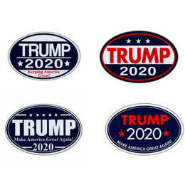Trump 2020 aimants autocollants Gardez l'Amérique grand président d'élection Aimants Autocollants Trump Supporter Décor Réfrigérateur Autocollants BH2938 TQQ en Solde