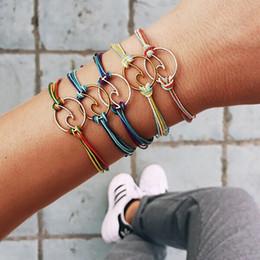 Neue Sommer Welle Woven Armband Einfache Vintage Frauen Legierung Mode Beliebte Armbänder Schmuck im Angebot