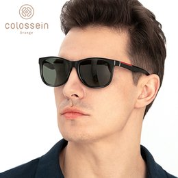polarizing sunglasses Australia - COLOSSEIN Sunglasses Men Polarized Classic TR90 Vintage Square Luxury For Women lentes Gafas de sol para hombre SH190924