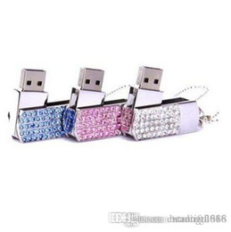 $enCountryForm.capitalKeyWord Australia - New crystal Portable lock 16GB USB flash memory stick flash disk drives