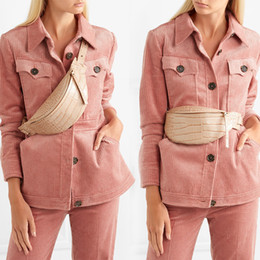 $enCountryForm.capitalKeyWord Australia - [BXX] Women Single Shoulder Crossbody Bag All-match Flap 2019 Summer Crocodile Pattern Waist Chest Package PU Leather Belt HG897