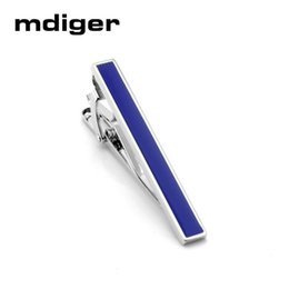 $enCountryForm.capitalKeyWord Australia - Mdiger Fashion Tie pins Tie Clips for Men Red Black Blue Clips Drops of Glue Business Wedding Mens Suit Shirt Accessories
