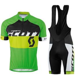 $enCountryForm.capitalKeyWord NZ - Tour de France SCOTT team Cycling Short Sleeves jersey bib shorts sets Quick-Dry Strap summer bike clothes Sportwear Ropa Ciclismo