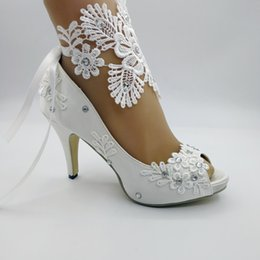 01d8a5101a White Bridal Shoes Chunky Heels Online Shopping | White Bridal Shoes ...
