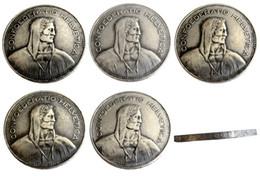 $enCountryForm.capitalKeyWord Australia - Switzerland (Confederation) 1937-1954 5pcs Silver 5 Francs (5 Franken) Copy Coin diameter:31.45mm Wholesale