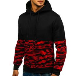 $enCountryForm.capitalKeyWord Australia - Nice Spring Camouflage Patchwork Hoodies Men Sweatshirts Slim Fit Sportswear Men Fashion Hoody Sweatshirts