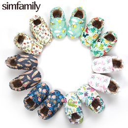 Walkers For Toddlers Australia - [simfamily]Kid Girls Boy First Walkers Soft Infant Toddler Shoes Cute Flower Soles Crib Shoes Footwear for Newborns baby