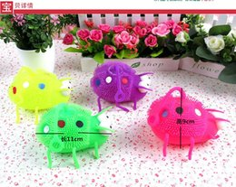 $enCountryForm.capitalKeyWord Australia - Lady Beetle Vent Ball New Children Light-emitting Toys Spend Elder Sister Flash Toys