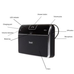 Discount double bluetooth speaker - Car Sun Visor Automatic Car Speaker Double Phone Call Answering Sun Hands-Free Kit Number M2 Visor Speaker Bluetooth