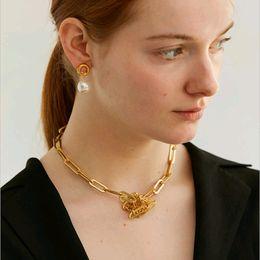 $enCountryForm.capitalKeyWord Australia - Cold Metal Wind Link Chain Choker Necklace 2018 Fashion Jewellery For Women Colar Gargantilla J190523