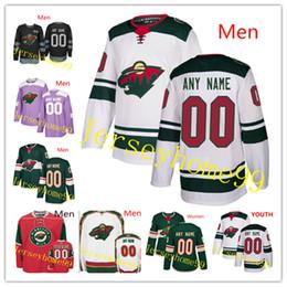 Hockey jersey suter online shopping - Custom Men Women Youth Minnesota Wild Jersey Matt Dumba Zucker Jared Spurgeon Greenway Fehr Brodin Granlund Parise Suter Staal Koivu