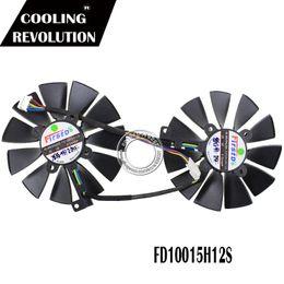 Asus Card Fan Australia - cooling fan 92mm FD10015H12S Graphics   Video Card Cooler Fan 12V 0.55AMP FOR ASUS ROG MATRIX GTX 980Ti P 6G GTX980TI Graphics