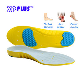 gel shoes for women UK - 1005 Comfort Gel Heel Arch Support Insoles Massage for Men Women Athletes Sport Running Shoes Remove Odors Cushion Insoles Pads
