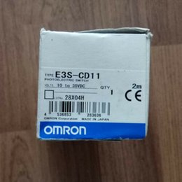 omron photoelectric sensors UK - NEW 1PC OMRON E3S-CD11 PHOTOELECTRIC SENSOR 10 - 30 VDC 2M