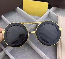 $enCountryForm.capitalKeyWord Australia - Men Women designer Sunglasses Fashion Round Sunglasses UV Protection Lens Coating Mirror Lens Frameless Color Plated Frame Come With Box 01